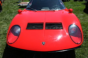 Wingsdomain Art And Photography Acrylic Prints - 1971 Lamborghini Miura S  5D22926 Acrylic Print by Wingsdomain Art and Photography