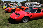 Wingsdomain Art And Photography Acrylic Prints - 1971 Lamborghini Miura S  5D22944 Acrylic Print by Wingsdomain Art and Photography