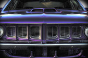 Race Digital Art Originals - 1971 Plymouth Cuda 440 by Gordon Dean II