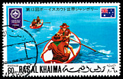 Stamp Originals - 1971 UAE Ras Al Khaima Postage Stamp by Charles  Dutch