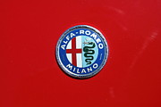 Old Milano Photos - 1972 Alfa Romeo Junior 1600 5D23147 by Wingsdomain Art and Photography