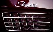 1972 Chevrolet Corvette Stingray Print by David Patterson