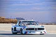 Bmw Racing Car Photos - 1974 Bmw 3.5csl Gt by Dave Koontz