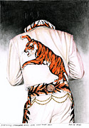 1974 Mad Tiger Suit Print by Rob De Vries