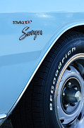 Dart Photos - 1975 Dodge Dart Swinger Emblem by Jill Reger