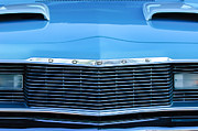 Dart Photos - 1975 Dodge Dart Swinger Grille by Jill Reger