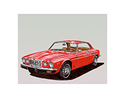 1975 Framed Prints - 1975 Jaguar XJ 6 C Framed Print by Jack Pumphrey
