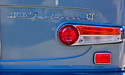 1975 Framed Prints - 1975 Lancia Fulvia 1.3S GT Berlina Taillight Emblem Framed Print by Jill Reger