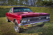 396 Prints - 1976 Chevelle SS 396 Print by Debra and Dave Vanderlaan