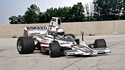Indy Car Prints - 1976 Lola T332 F5000 Race Car Print by Tad Gage