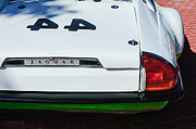 Race Car Photo Prints - 1978 Jaguar XJ-S Group 44 Trans-AM Race Car Taillight Emblem Print by Jill Reger