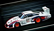 1978 Porsche 935 Moby Dick Print by motography aka Phil Clark