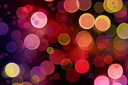 Defocused Posters - Abstract background Poster by Les Cunliffe