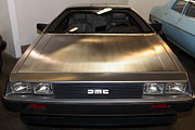Delorean Posters - 1981 DeLorean DMC-12 5D25674 Poster by Wingsdomain Art and Photography
