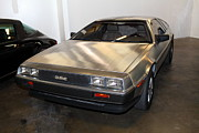 Delorean Posters - 1981 DeLorean DMC-12 5D25676 Poster by Wingsdomain Art and Photography