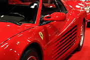 Transportation Art - 1986 Ferrari Testarossa - 5D20028 by Wingsdomain Art and Photography
