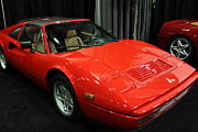 1987 Framed Prints - 1987 Ferrari 328 GTS - 5D19816 Framed Print by Wingsdomain Art and Photography