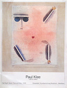 1980s Drawings - 1988 Original Paul Klee Exhibition Poster - Dusseldorf by Paul Klee