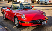 1992 Framed Prints - 1992 Alfa Romeo Spider Veloce Framed Print by Steve Harrington
