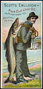 Mary Evans - 19th Century Cod Liver Oil Ad