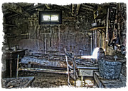 Log Cabin Photos - 19th Century Miners Cabin - Montana by Daniel Hagerman