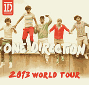 One Direction Posters - 1d Poster by Steve Thorpe