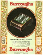 1920s Usa Equipment Burroughs Adding Print by The Advertising Archives