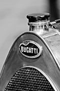 Bugatti Vintage Car Photos - 1920 Bugatti Type 13 Grille Emblem by Jill Reger