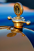 Collector Hood Ornament Metal Prints - 1922 Studebaker Touring Hood Ornament 3 Metal Print by Jill Reger