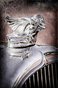 1927 Prints - 1927 Buick Goddess Hood Ornament Print by Jill Reger