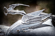 Collector Hood Ornament Prints - 1933 Chrysler Imperial Hood Ornament Print by Jill Reger