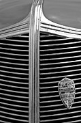 1936 Photos - 1936 Desoto Airstream Grille Emblem by Jill Reger