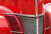 1940 Ford Photos - 1940 Ford Deluxe Coupe Grille by Jill Reger
