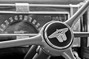 Steering Framed Prints - 1941 Chevrolet Steering Wheel Framed Print by Jill Reger