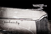 Collector Hood Ornament Metal Prints - 1941 Packard Hood Ornament Metal Print by Jill Reger
