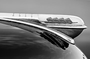 1947 Photos - 1947 Plymouth Hood Ornament by Jill Reger