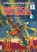 Mechanics Drawings - 1950s Uk Practical Mechanics Magazine by The Advertising Archives