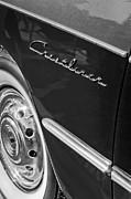 1951 Ford Crestliner Emblem - Wheel Print by Jill Reger