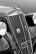 Ardea Framed Prints - 1952 Lancia Ardea 4th Series Berlina Grille Emblems Framed Print by Jill Reger