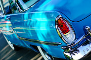Monterey Framed Prints - 1955 Mercury Monterey Taillight Framed Print by Jill Reger