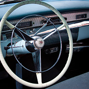 Blue Buick Photos - 1956 Buick Century by David Patterson