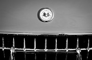 1957 Corvette Photos - 1957 Chevrolet Corvette Grille Emblem by Jill Reger