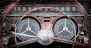 Steering Prints - 1959 Buick Lesabre Steering Wheel Print by Jill Reger