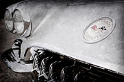 1960 Photos - 1960 Chevrolet Corvette Hood Emblem by Jill Reger