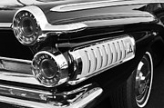 500 Prints - 1962 Dodge Polara 500 Taillights Print by Jill Reger