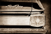 1963 Plymouth Sport Fury Taillight Emblem Print by Jill Reger