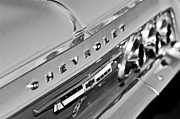Taillights Prints - 1964 Chevrolet Impala Taillights and Emblems Print by Jill Reger