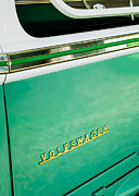 1964 Volkswagen Vw Samba 21 Window Bus Emblem Print by Jill Reger