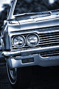 Auction Digital Art Posters - 1966 Chevy Impala SS Convertible Poster by Gordon Dean II
