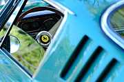 Featured Art - 1966 Ferrari 275 GTB Steering Wheel Emblem by Jill Reger